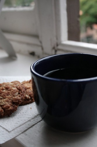 Tea and Anzac Biscuits