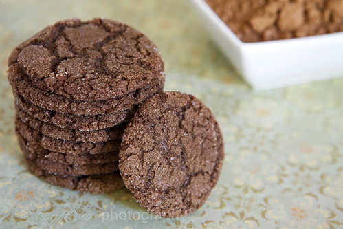 Chocolate Sugar Cookies by t.sullivan photography