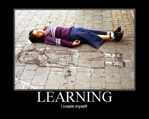 Learning: I create myself