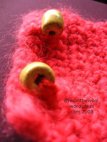 crochet neckwarmer buttons