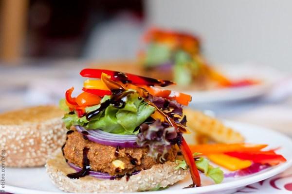 Dinner - Chickpea Burger
