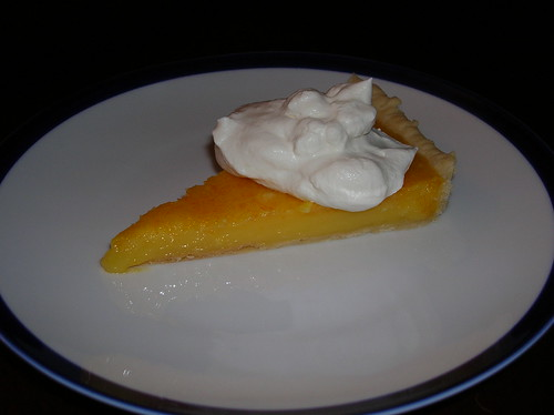 Lemon Tart Slice