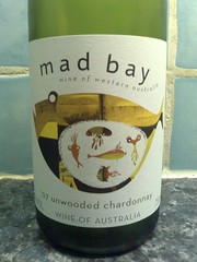 Mad Bay Unwooded Chardonnay 2007