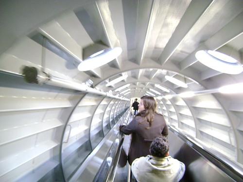 Atomium - coborare
