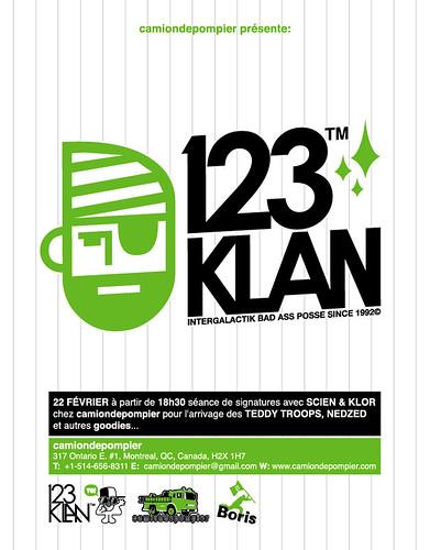 Flyer 123 Klan