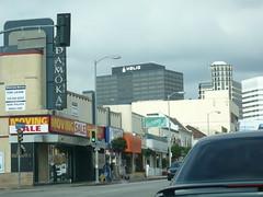 Westwood Blvd looking towards Helio House