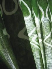 shadows on green cloth