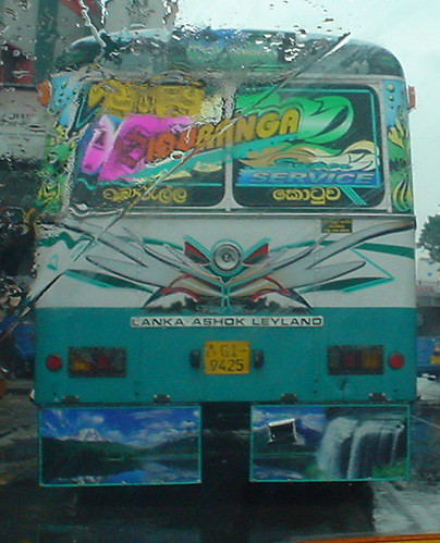 Sri Lankan Bus Art