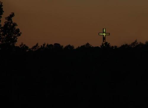 Cross on Pine Hill - Waterbury, Connecticut
