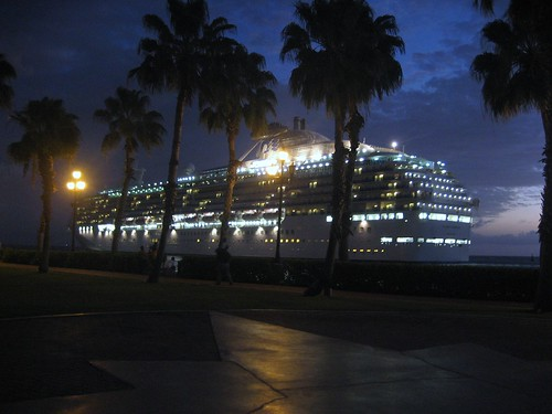 Princess Cruises Leaving Port
