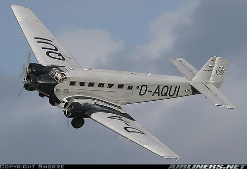 JU-52 da Lufthansa - Airliners.net