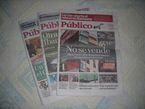 Público, nuevo periódico español