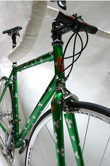 Lynskey's first STEEL bike