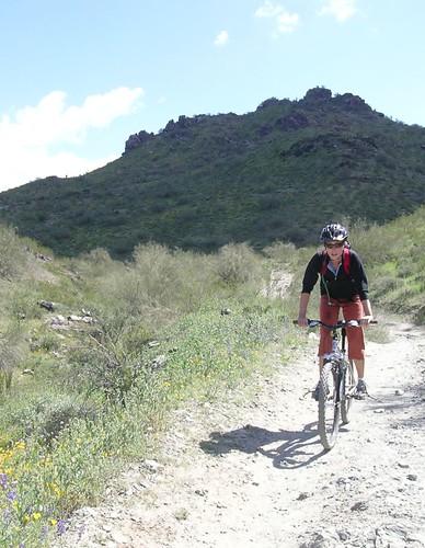 Biking in AZ
