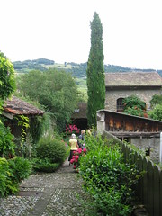 The garden of my father's uncle in Switzerland