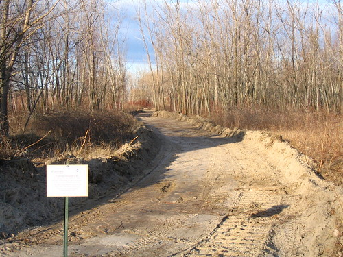 Trail construction