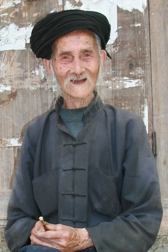 A 98 year old villager