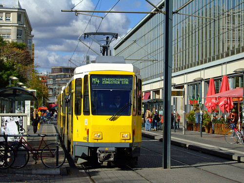 Tranvia en Alexanderplatz