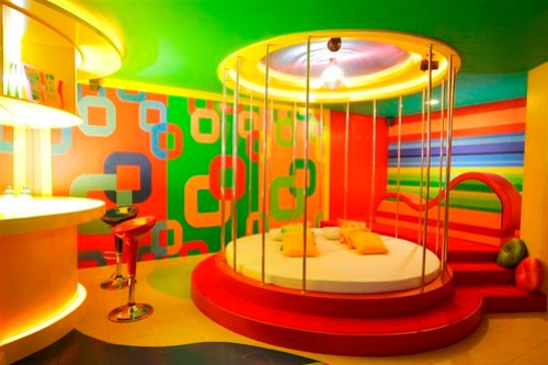 Austin Powers room
