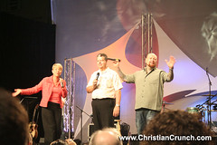 John Arnott and Carol Arnott of the Toronto Blessing visited Lakeland, Florida and the Florida Revival and Healing Outpouring with Todd Bentley last night.