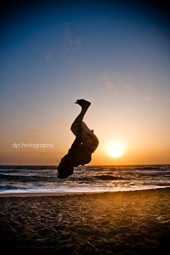 Hubert Backflip @ Pacifica Beach