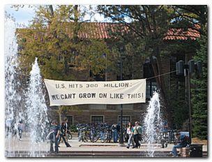 Concern over US population size