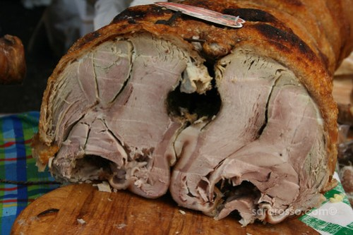 Porchetta Maremmana - Inside look