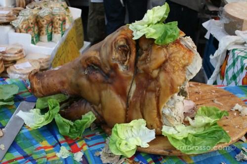 Porchetta Maremmana - Pig's Head