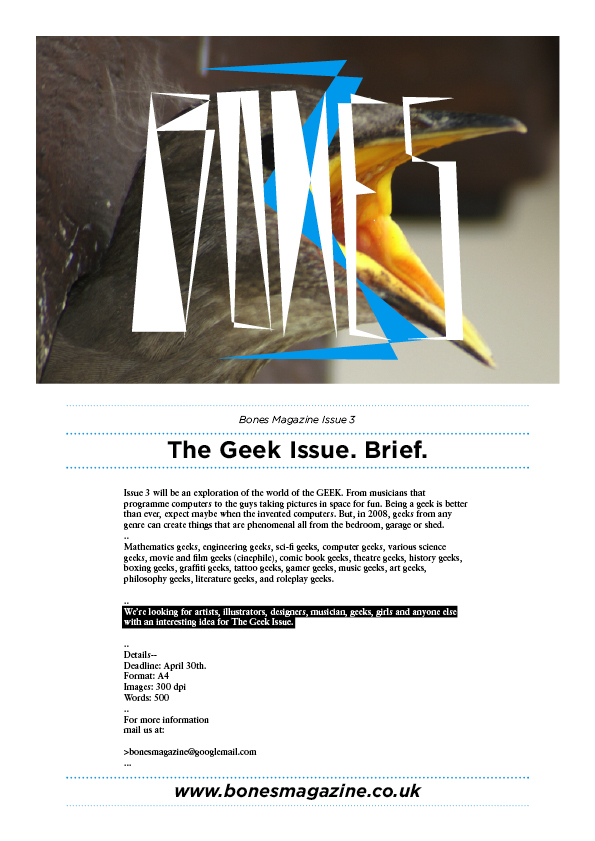 The Geek Issue Brief