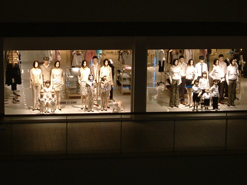 still life with mannequins