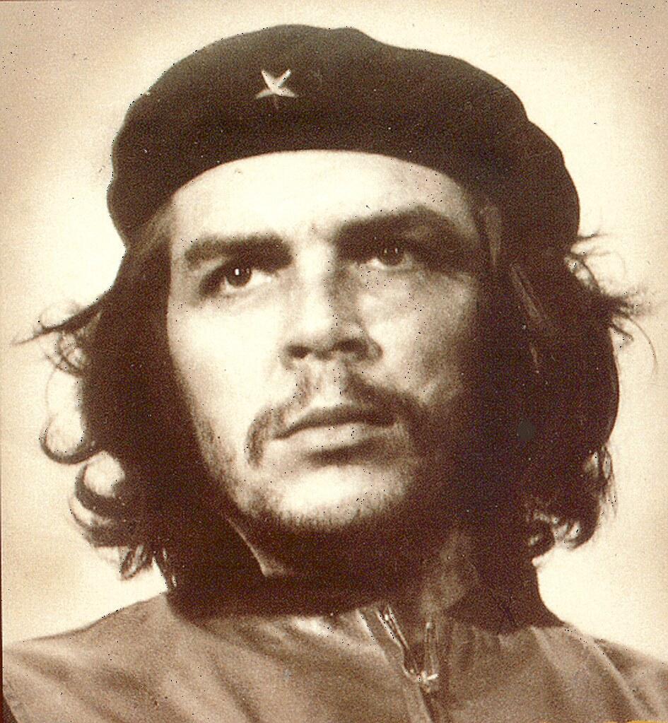 Ernesto Che Guevara foto envejecida