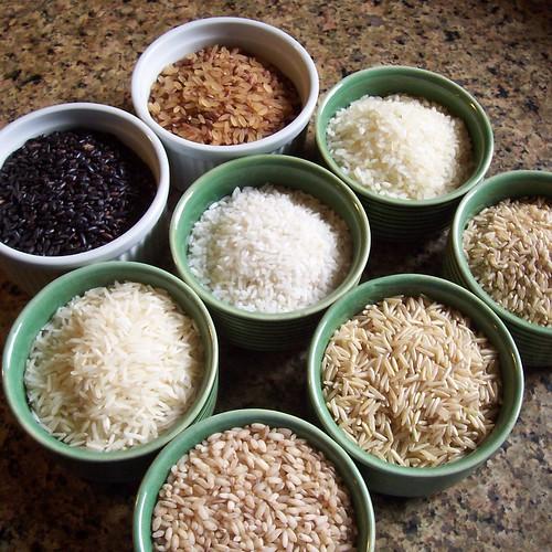 rices varieties