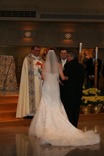 Jon takes daughter Jenn to the altar