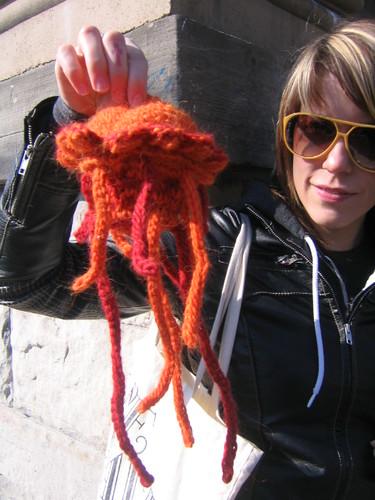 Crocheted Jellyfish