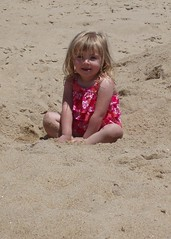 Ryleah in the Sand
