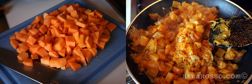 Pumpkin ready for the Savoury Tart