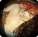 Gustav Klimt. Danae, 1907-08.