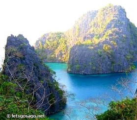 Coron Limestone Islands in Palawan