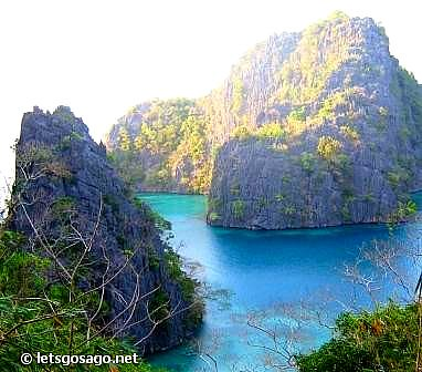 Coron Limestone Islands in Palawan