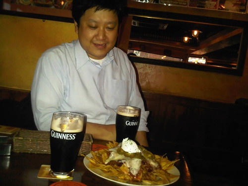 Some nachos with Masafumi Ohta