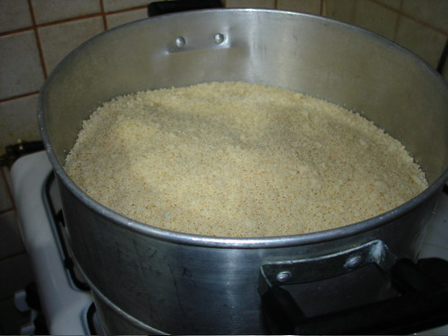 Steam Couscous