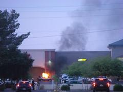 Car fire!