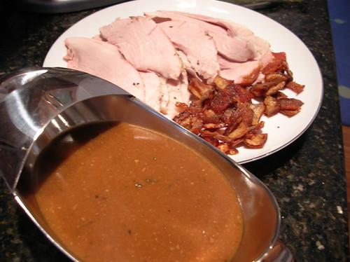 Ham, Gravy, Cracklings