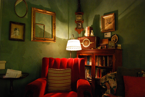Reading Nook by Yarnie Spinner.