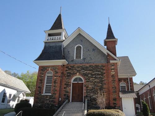 Rockmart First Baptist Church (part of the church), Rockmart GA