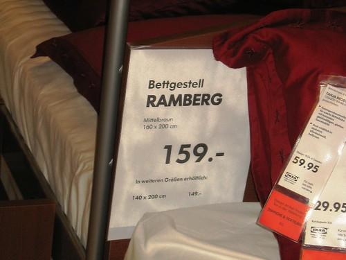 Ikea Ramberg 2 Spreitenbach