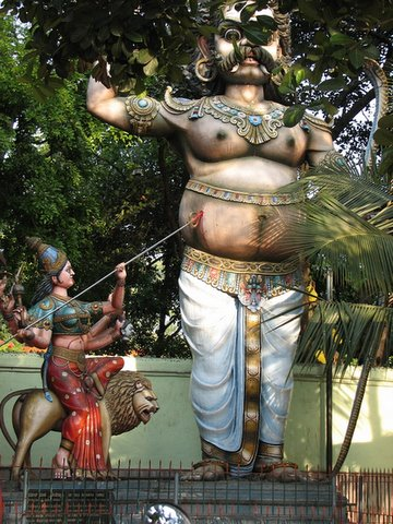 "devi performing hernia operation ""sri circle maramman"" temple C V Raman Nagar 180408"