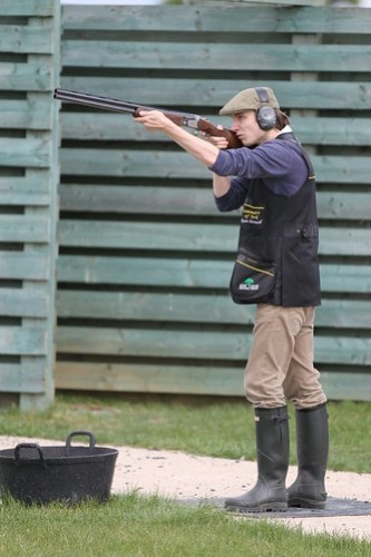 Clay Pigeon Shooting, 14/05/2011, Photo: Justyn Hardcastle