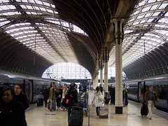 London Paddington Platform