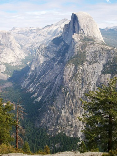 Der Half Dome im Yosimite Calley, USA